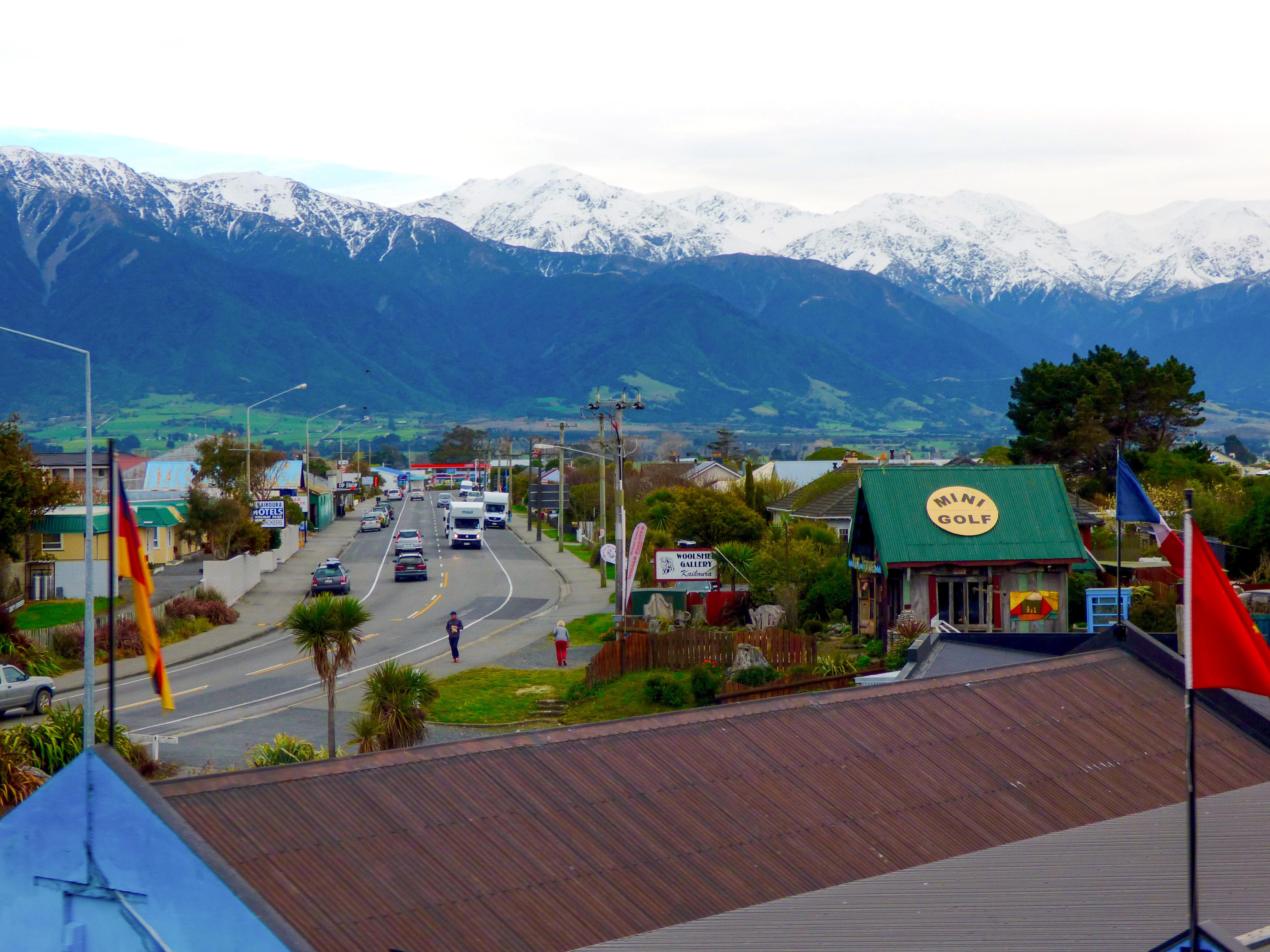Kaikoura Ranges New Zealand, KiwiRail train journey, 7 day New Zealand tour