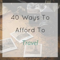 afford travel square