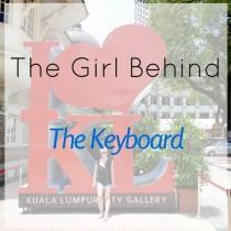 behind keyboard square