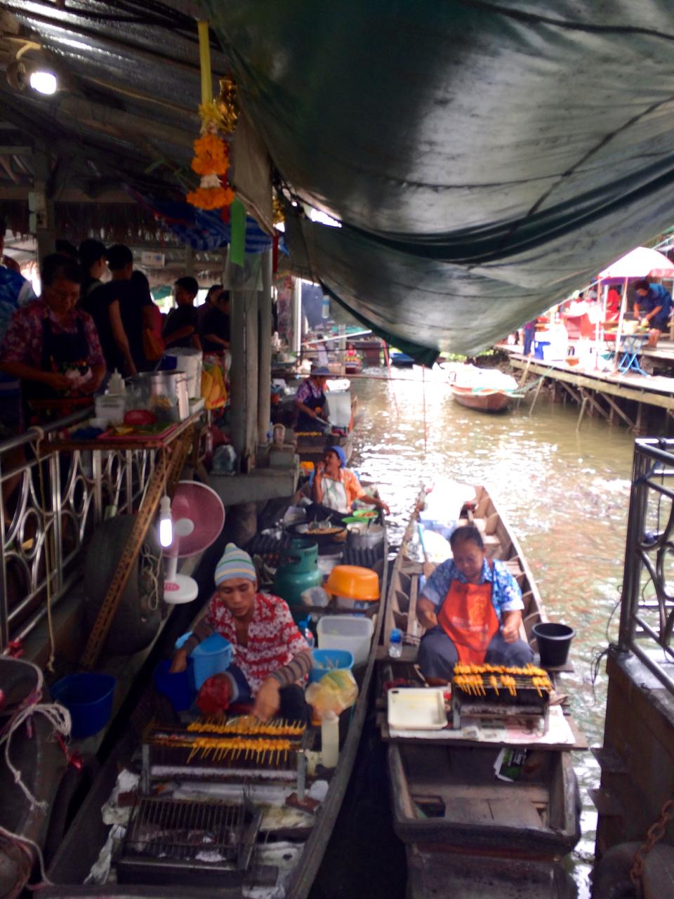 Taling Chan Floating Market Bangkok, Thailand