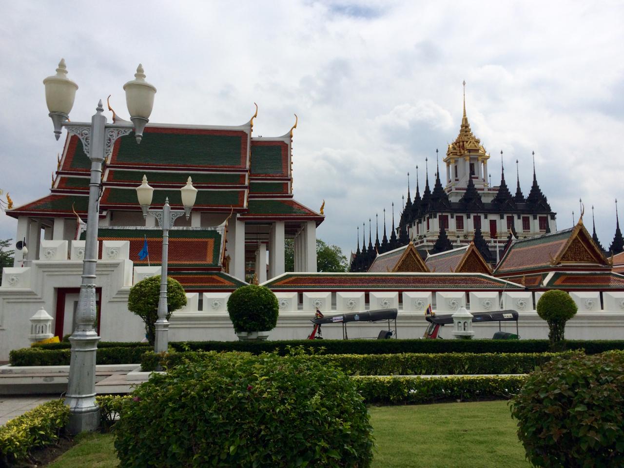 Wat Ratchanadda in Bangkok, Thailand