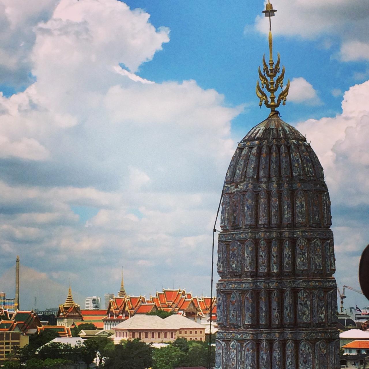 View from Wat Arun Bangkok, Thailand