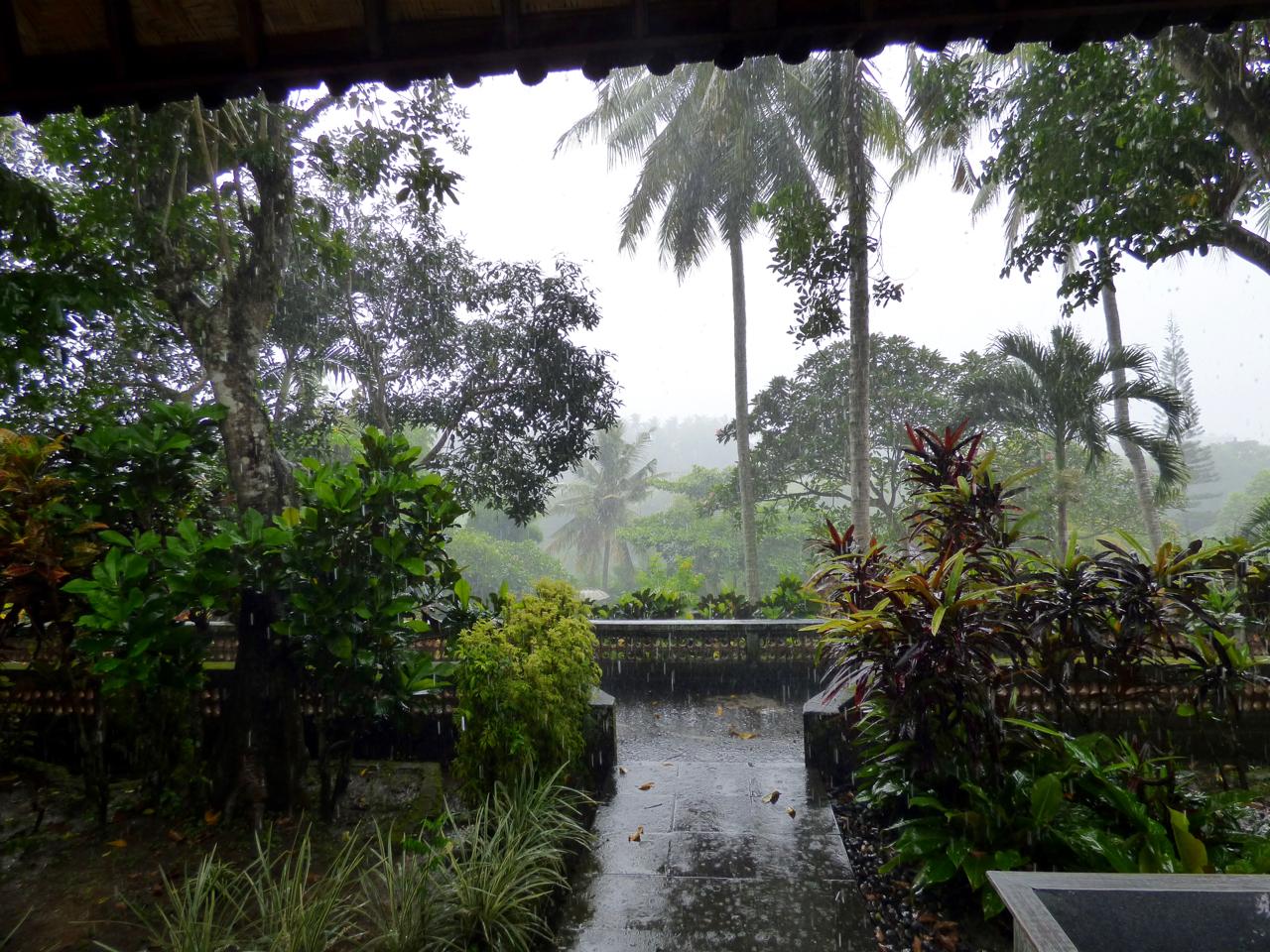 Monsoon in Ubud, Indonesia