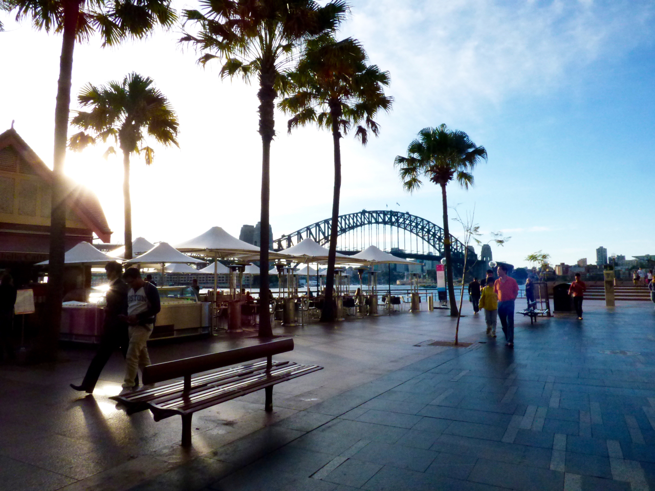 Sydney Harbour Bridge and walkway
