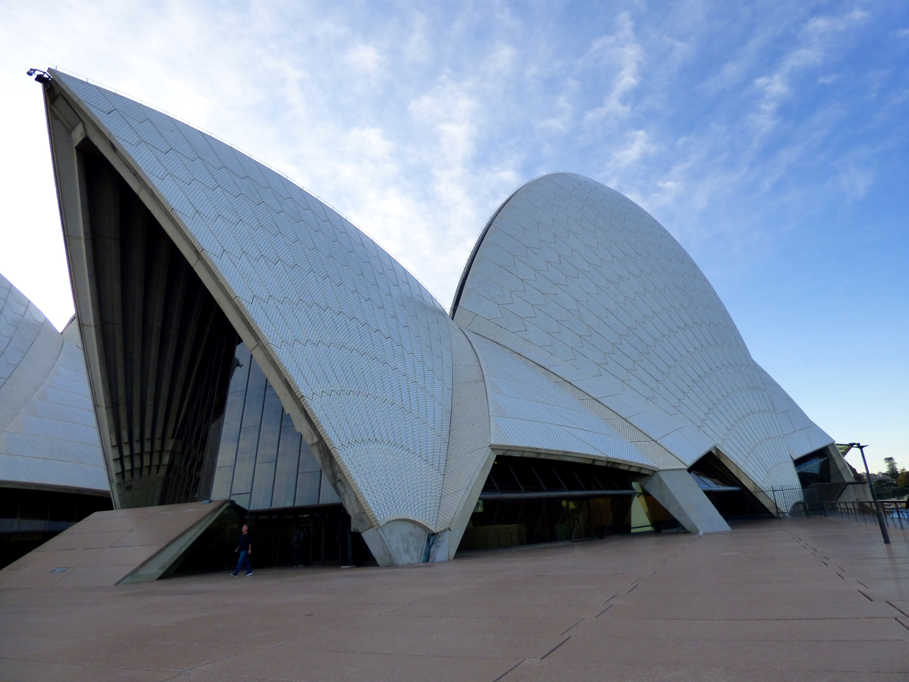 Sydney Opera House up-close