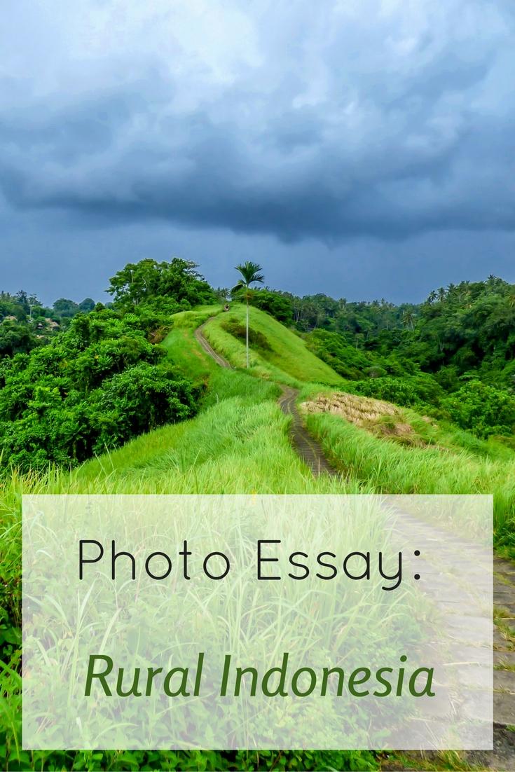 Photo essay rural indonesia long