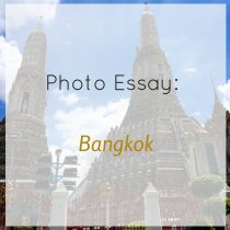 photo essay bangkok square