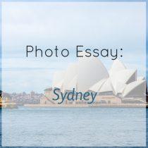 photo essay sydney