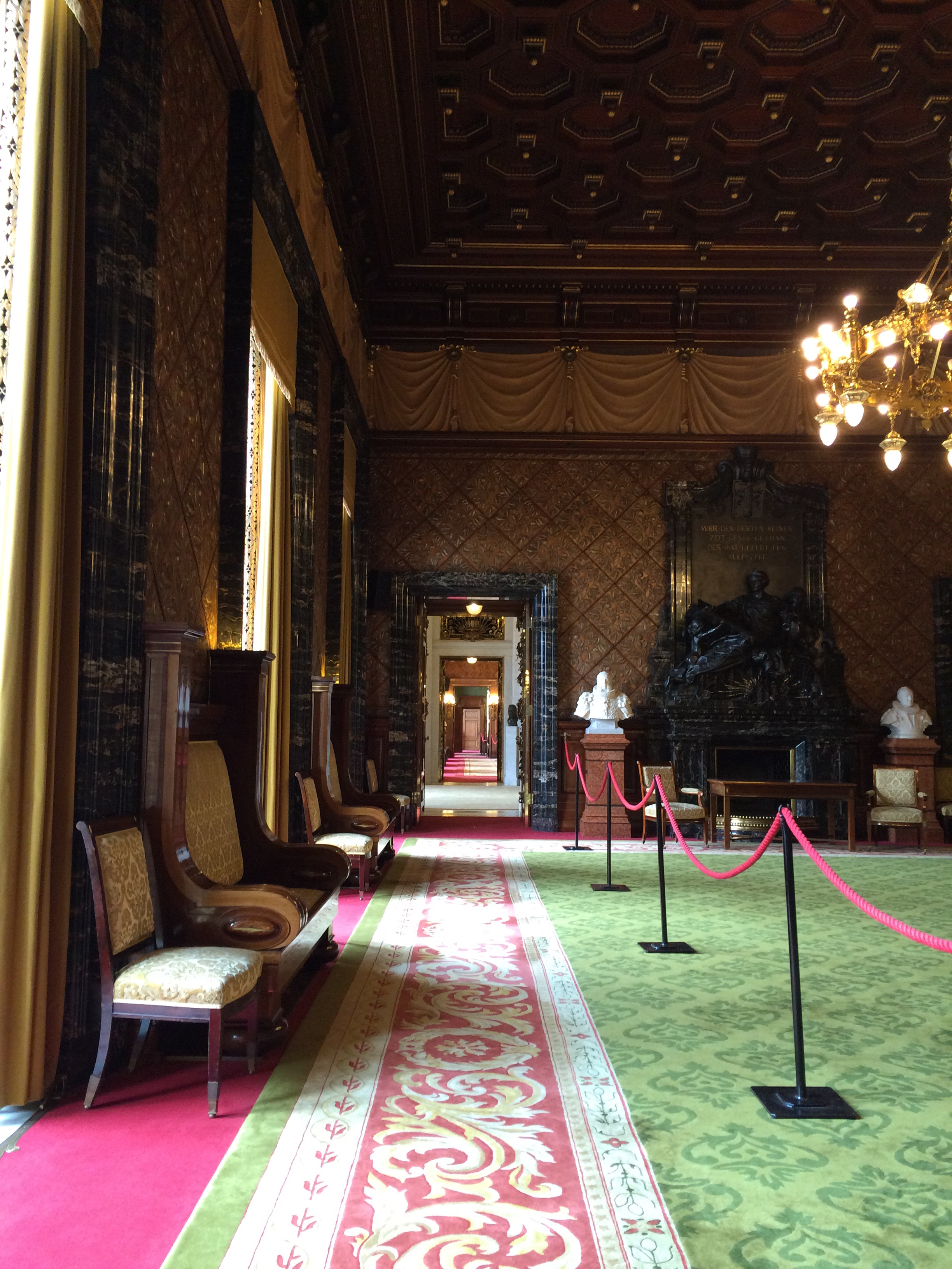 rathaus hallway