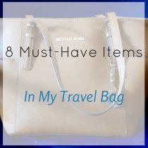 travel bag square