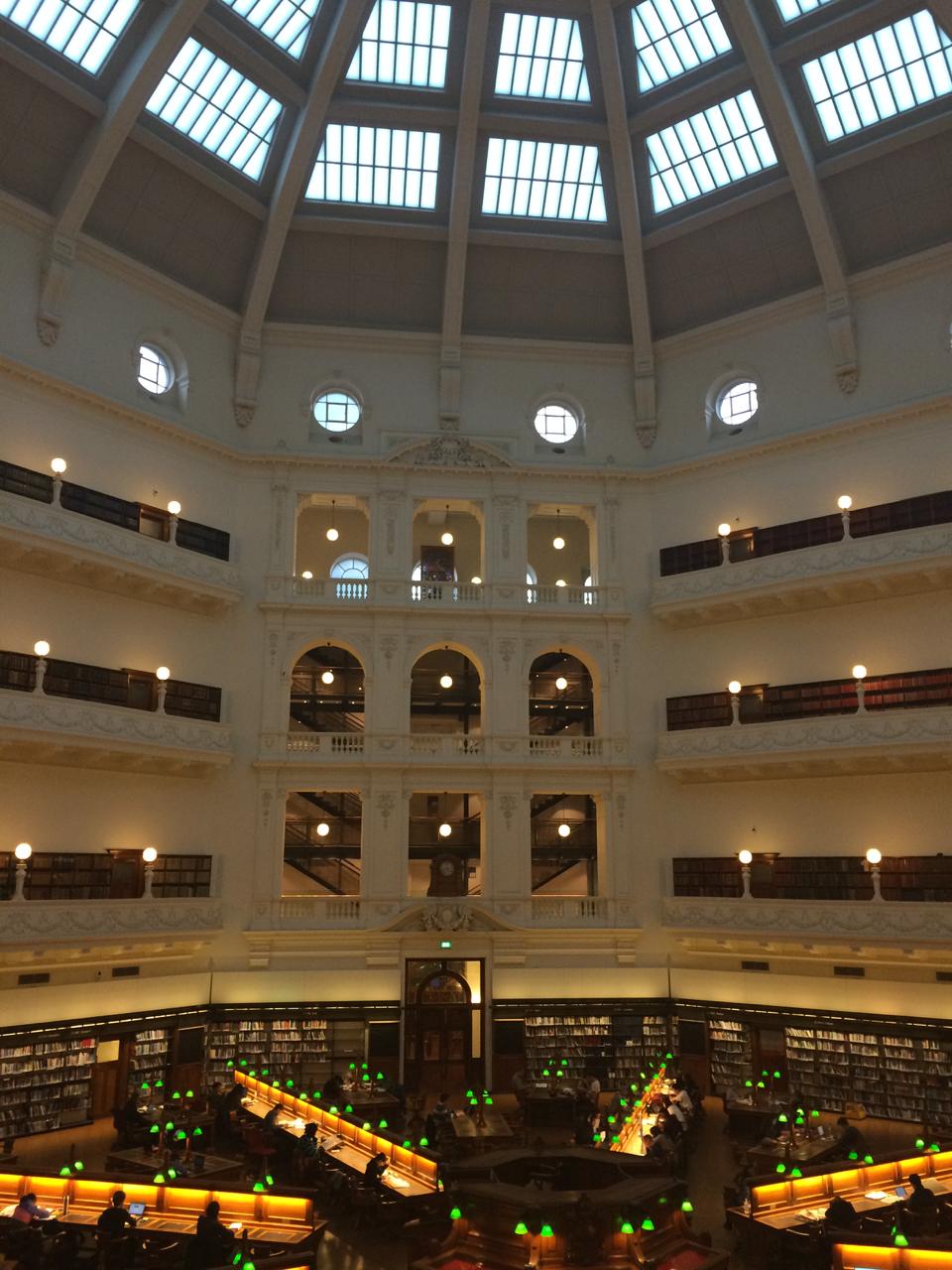 State Library of Victoria Melbourne, Australia