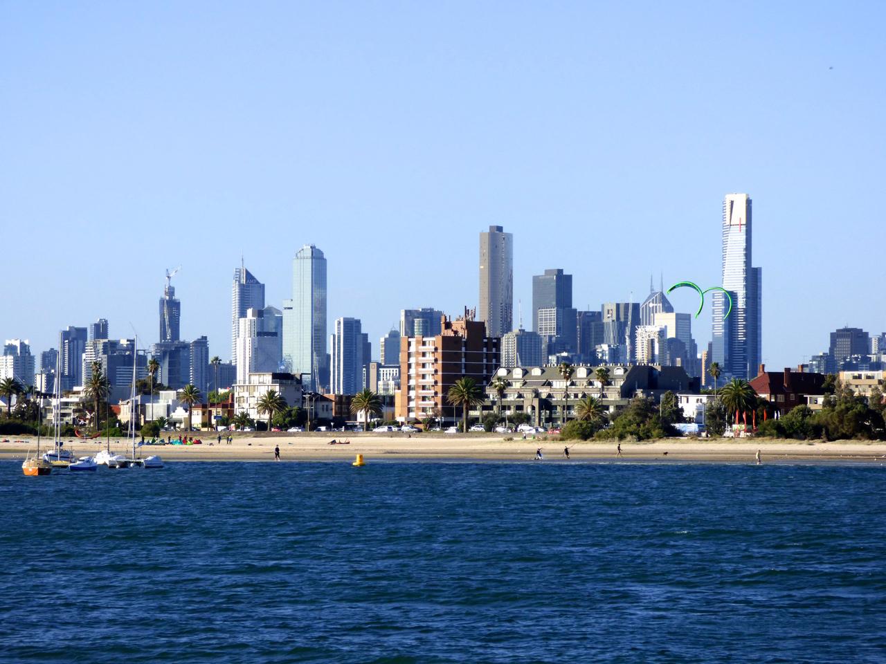 St. Kilda pier Melbourne, Australia