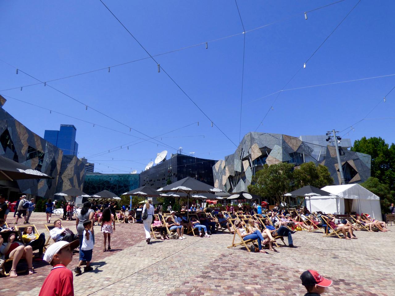 Federation Square Melbourne, Australia