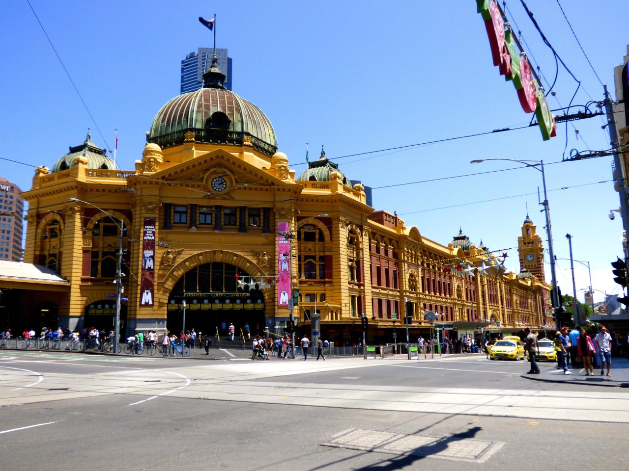 Flinders Street Station Melbourne, Australia