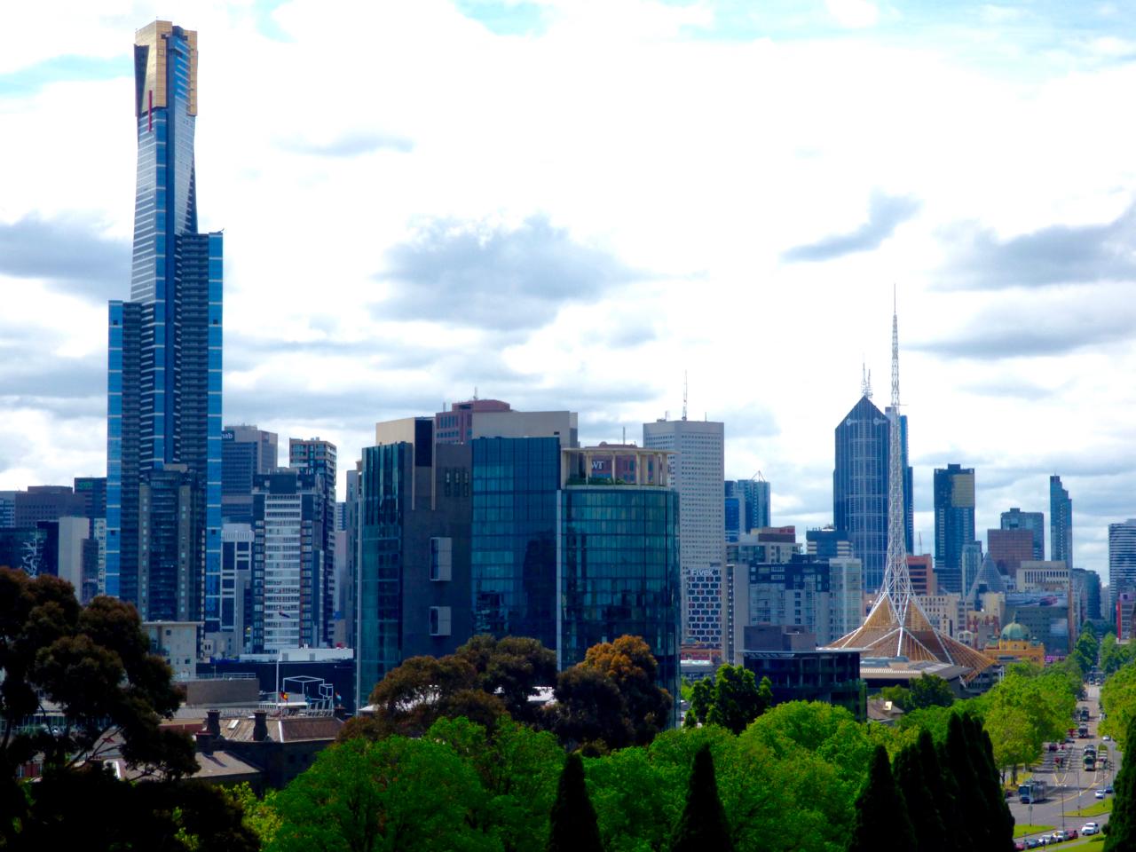 Eurkea Tower Melbourne, Australia