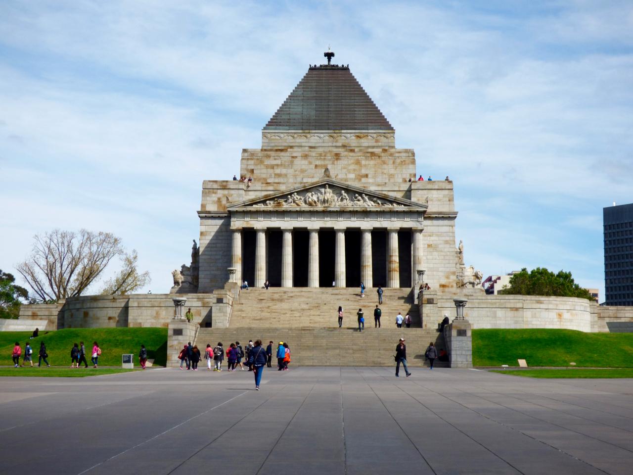 Shrine of Remembrance Melbourne, Australia