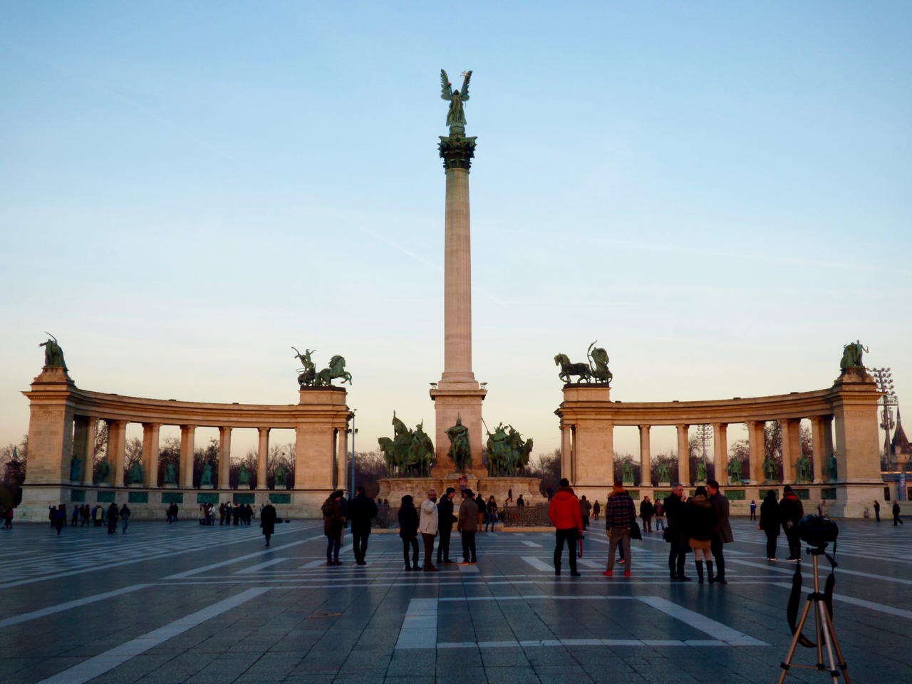 Heroes' Square Budapest, Hungary
