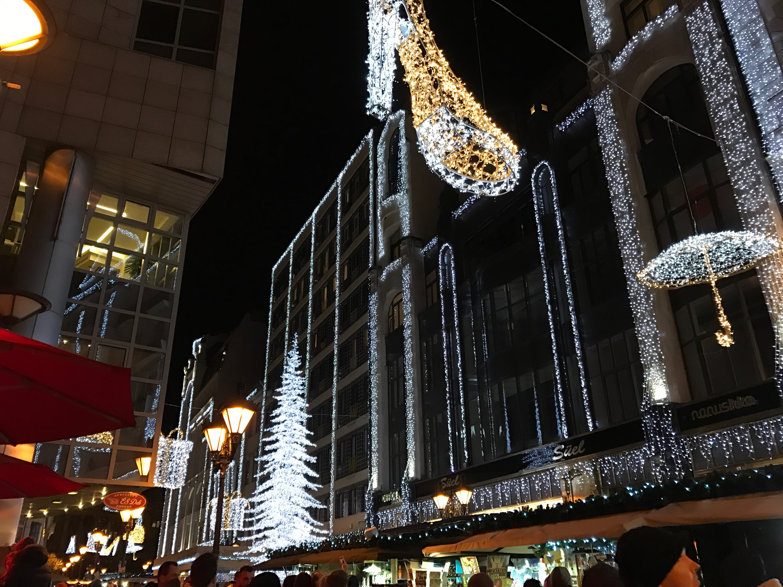 christmas-lights Budapest, Hungary