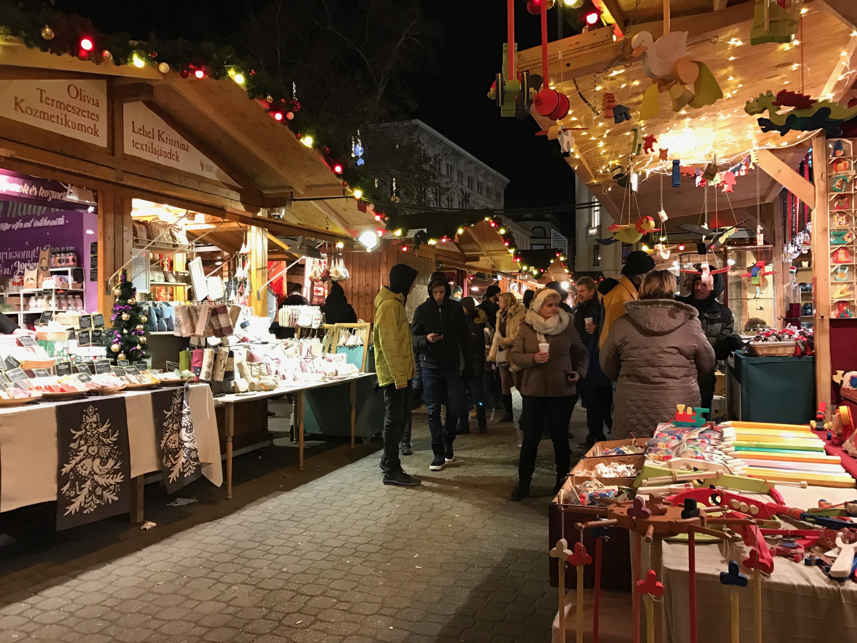 christmas-market Budapest, Hungary