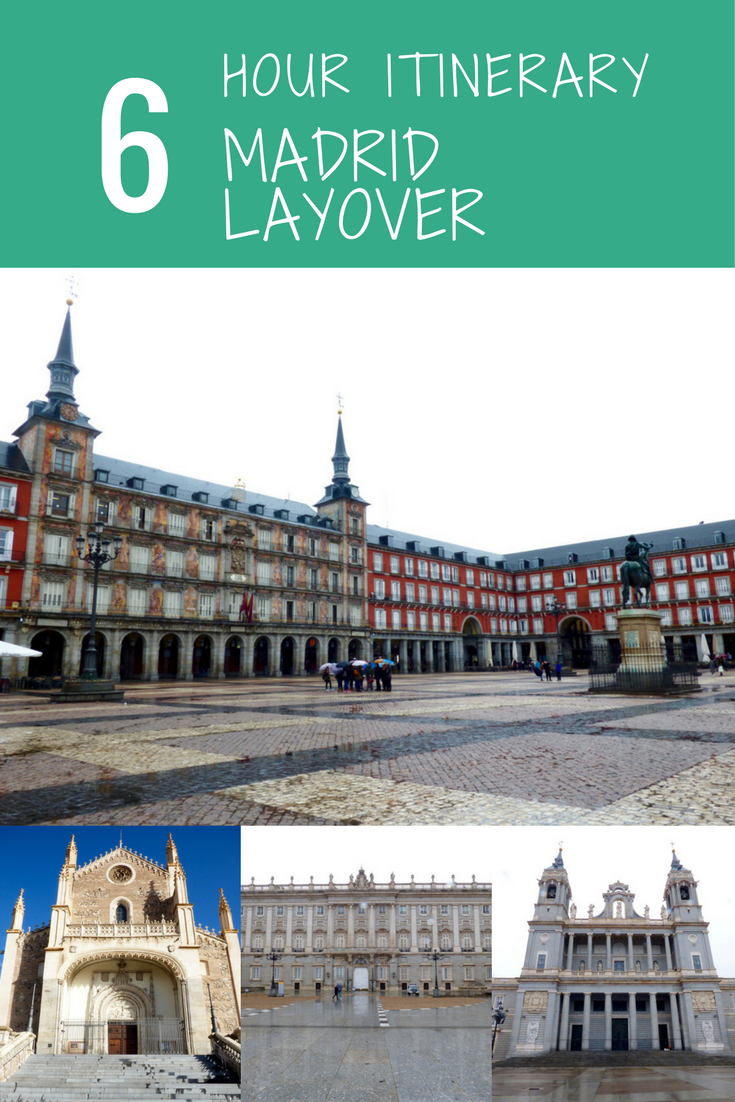 A guide for seeing Madrid in 6 hours. This Madrid layover itinerary will show you as many of the main sites before you need to head back to the airport.