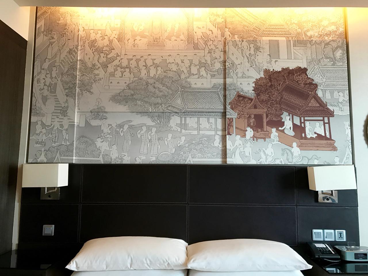 Bangkok Marriott Sukhumvit Hotel review, the room