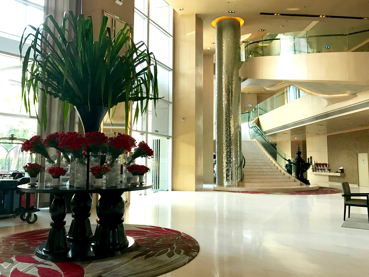 Bangkok Marriott Hotel Sukhumvit lobby