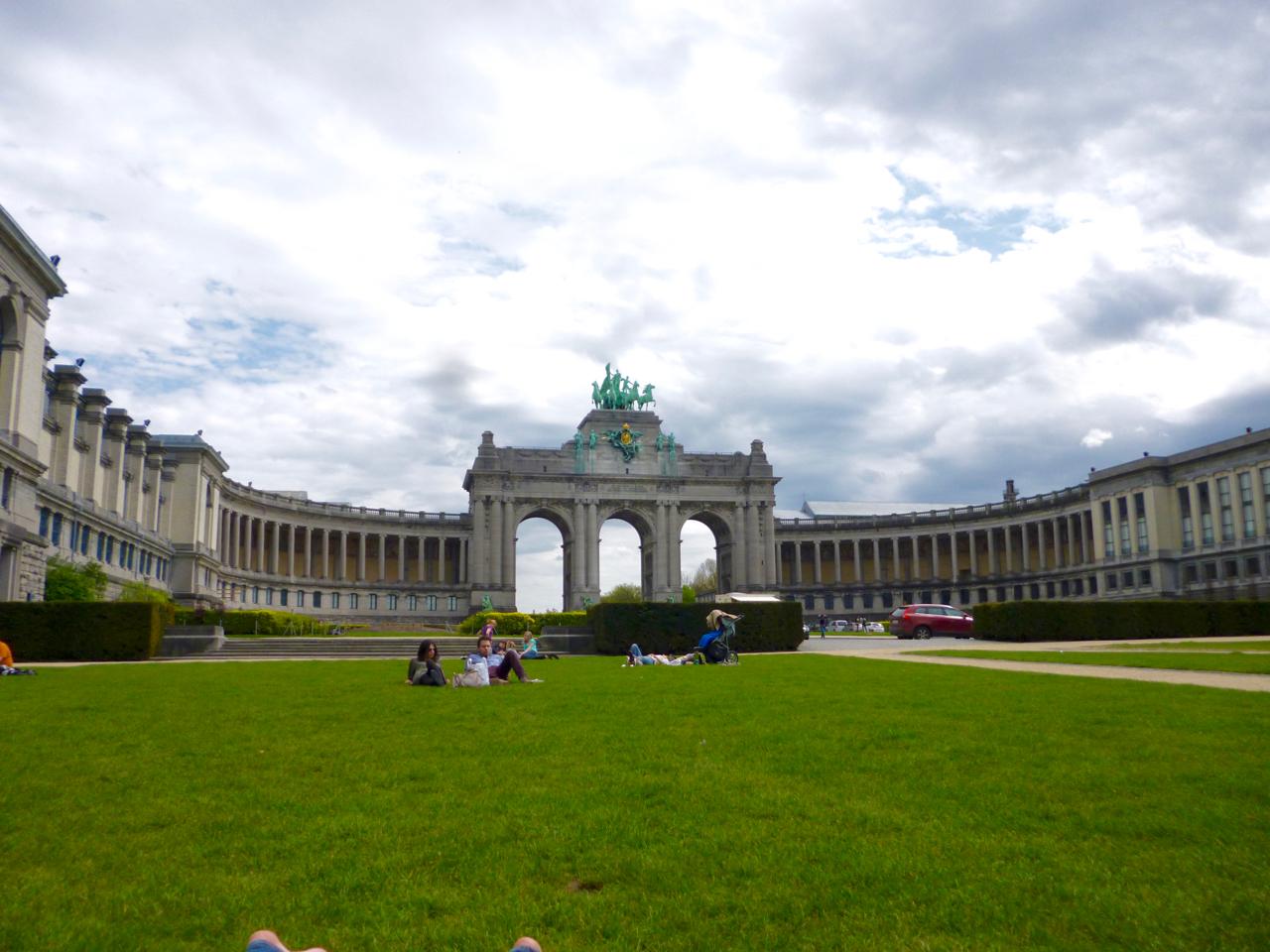 Park du Cinquantenaire Brussels, Belgium