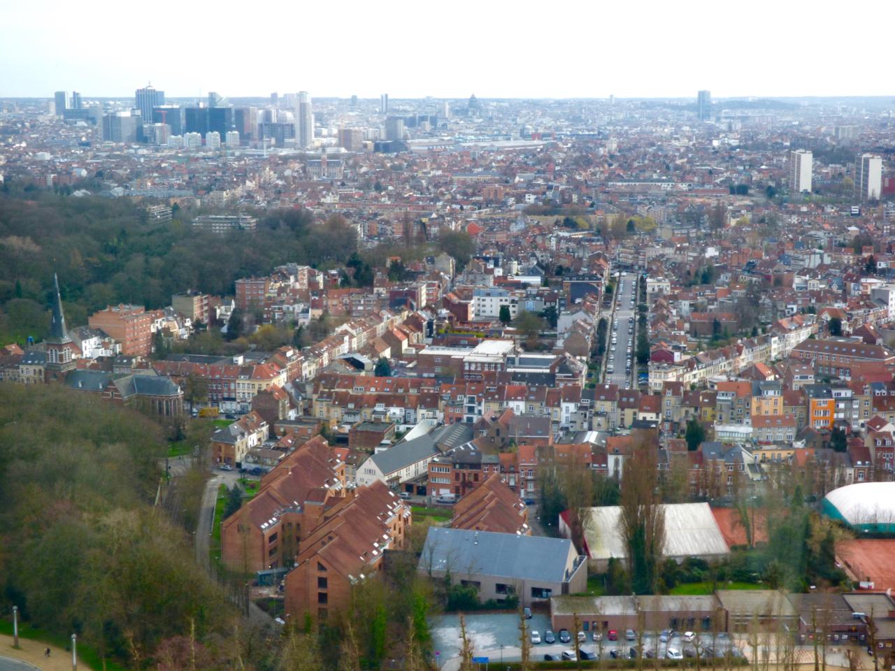 Atomium Brussels, Belgium view