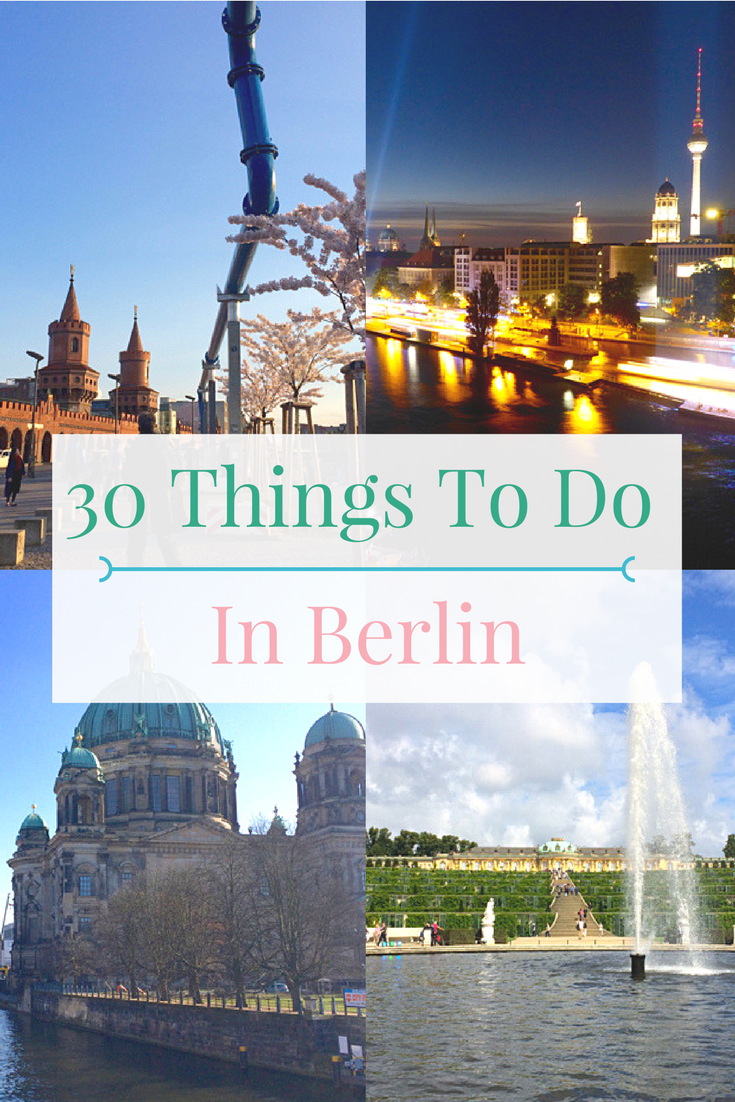 Planning a visit to Berlin, Germany? Check out these 30 things to do in Berlin from historic sights, beautiful parks to delicious local food and drinks.
