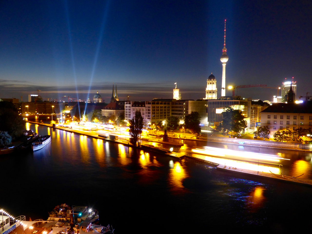 Berlin, Germany skyline