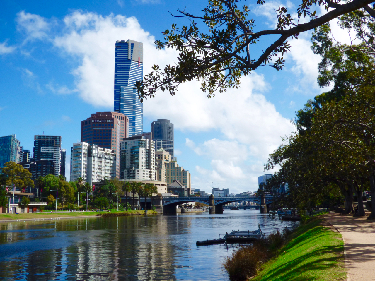 Melbourne, Australia Yarra River
