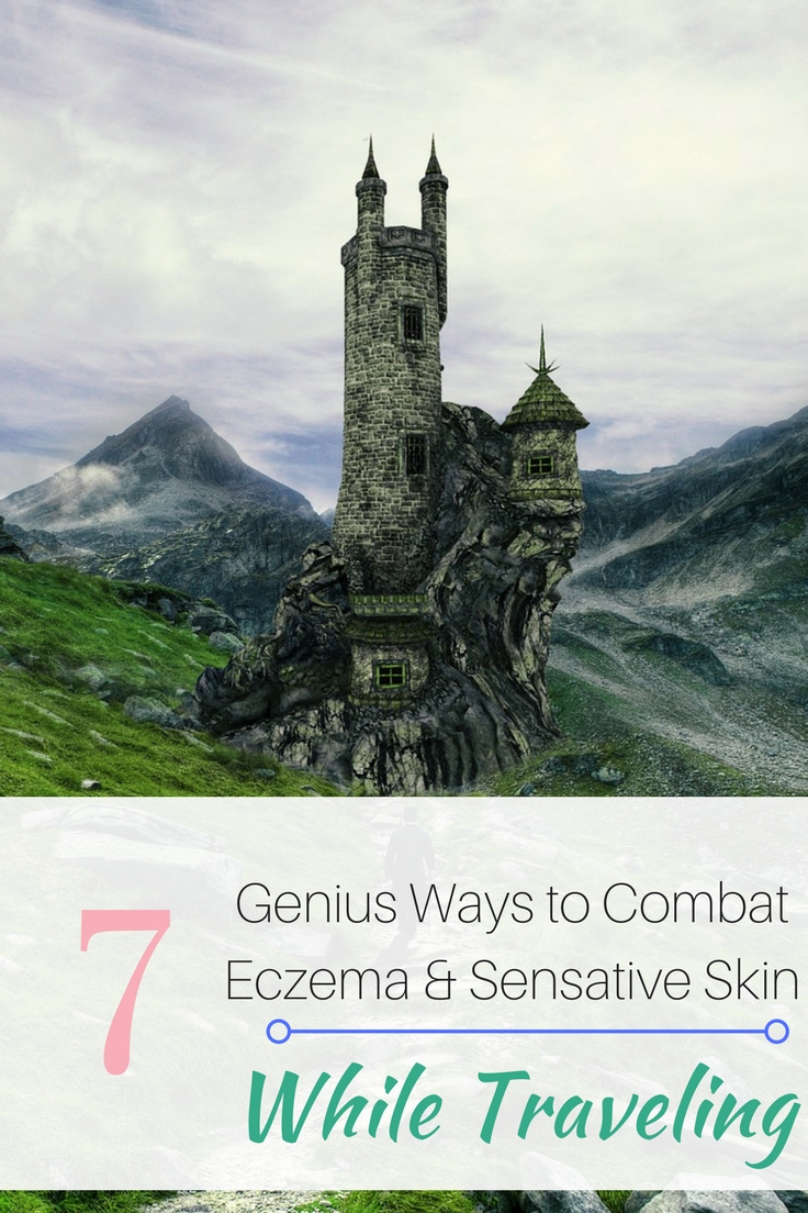 There's nothing worse than exploring beautiful locations, eating great food, enjoying great company only to be interrupted by scratching yourself like a dog with fleas. Let's talk how to avoid eczema flare ups when traveling: moving climate to climate, being away from home and while flying on airplanes.