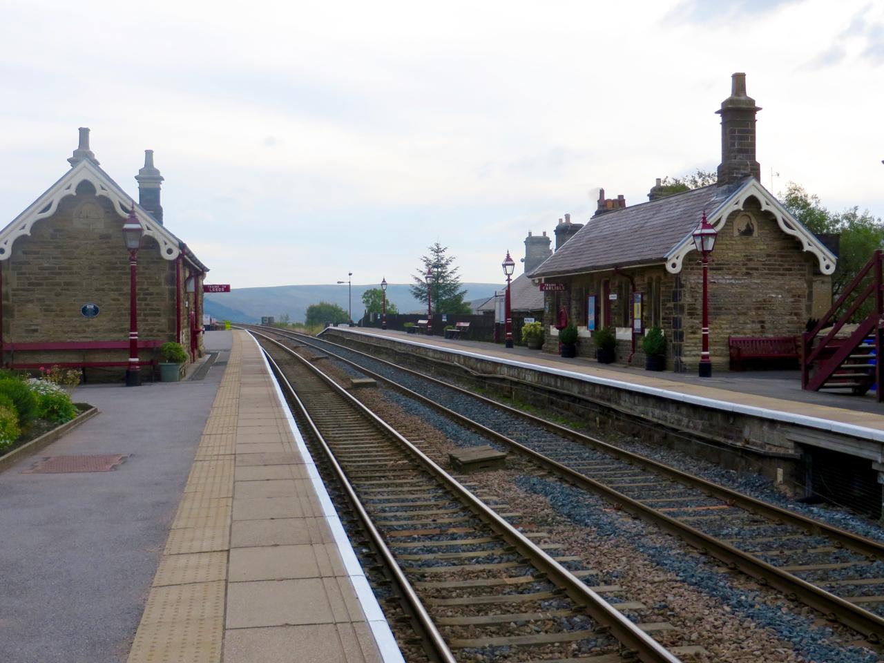 Garsdale Railway Station UK, near Wensleydale Cheese Experience