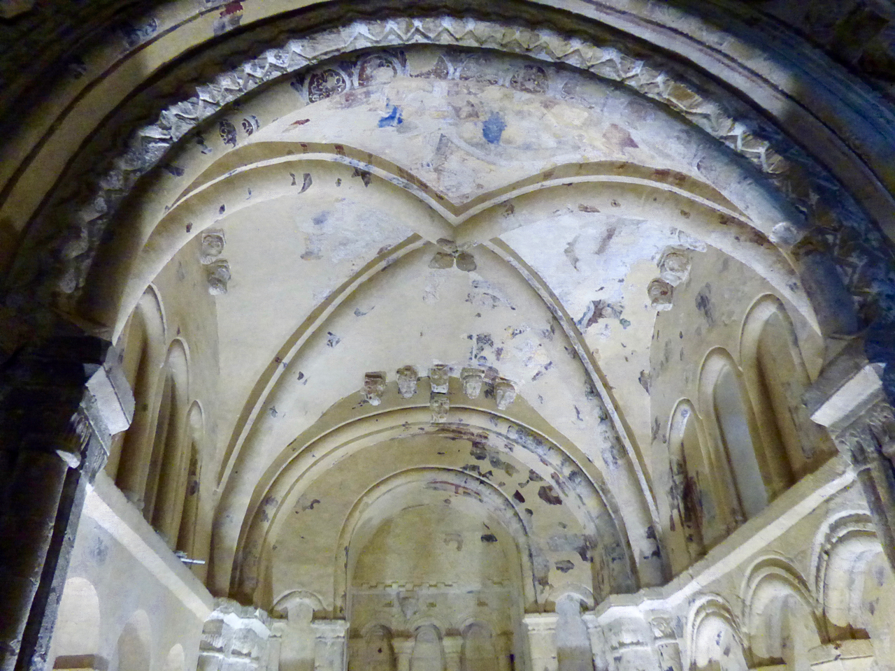 Cormac's Chapel, Rock of Cashel, ceiling