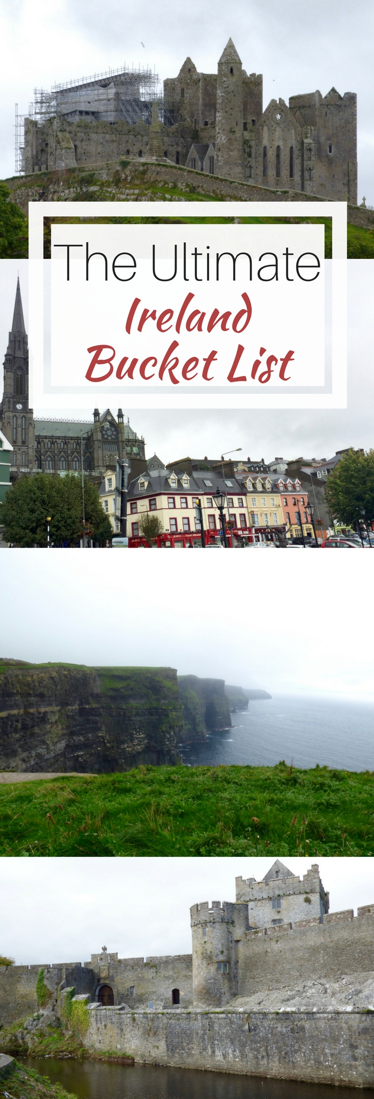 Filled with ancient history, rolling green hills, folklore, amazing drinks and food, make sure to miss nothing with this ultimate bucket list for Ireland. Read about all the cities, castles, experiences you should have if you're visiting the Emerald Isle.