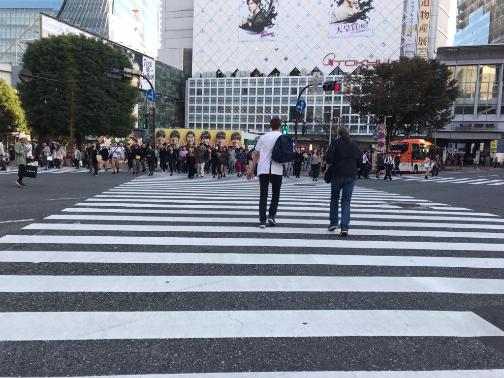 Shibuya Crossing, Tokyo, Japan best photo spots in Tokyo