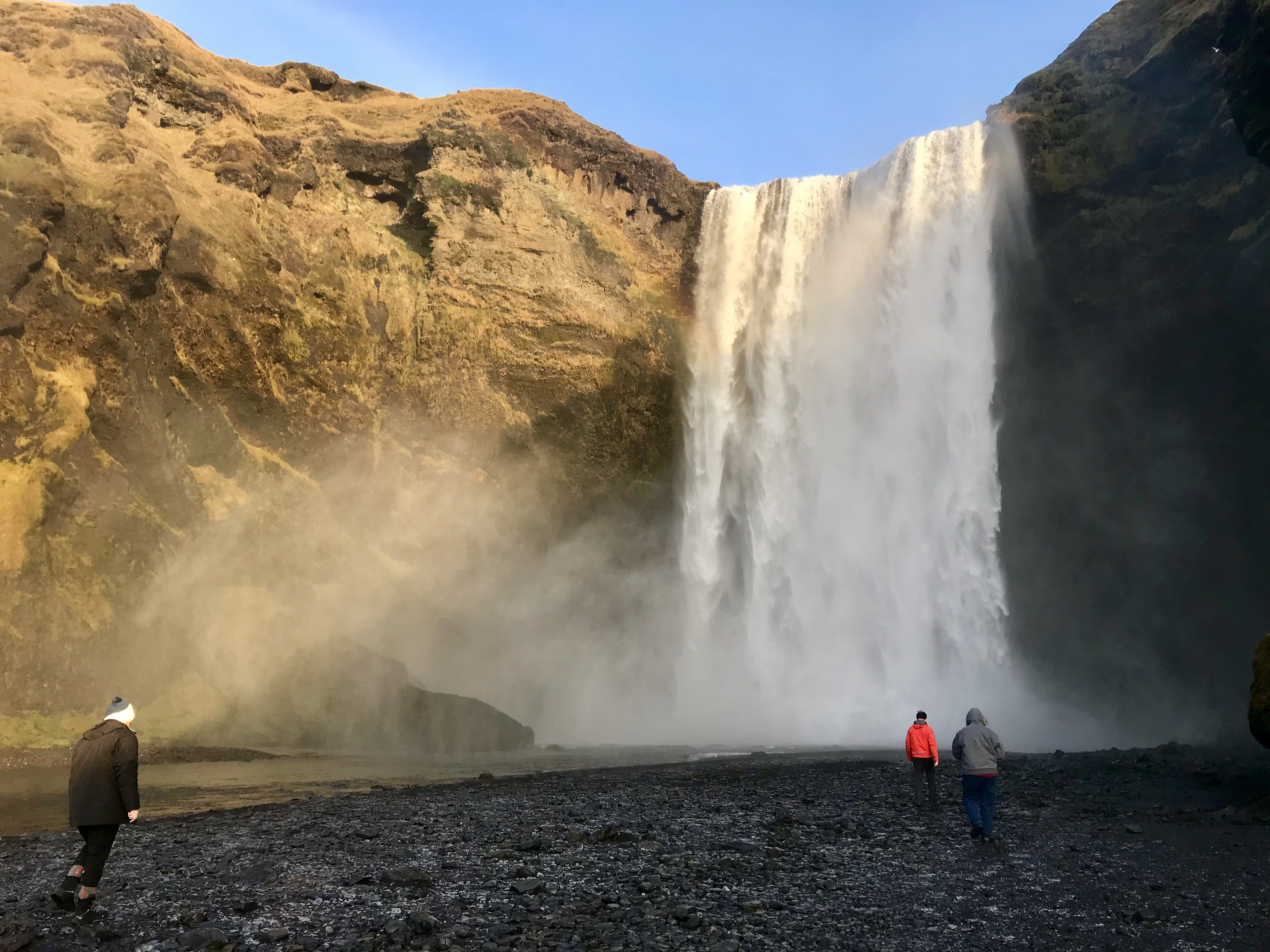 Skogafoss Waterfall, south iceland itinerary, best waterfalls south iceland