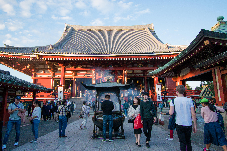 Senso-ji Temple Tokyo, Japan