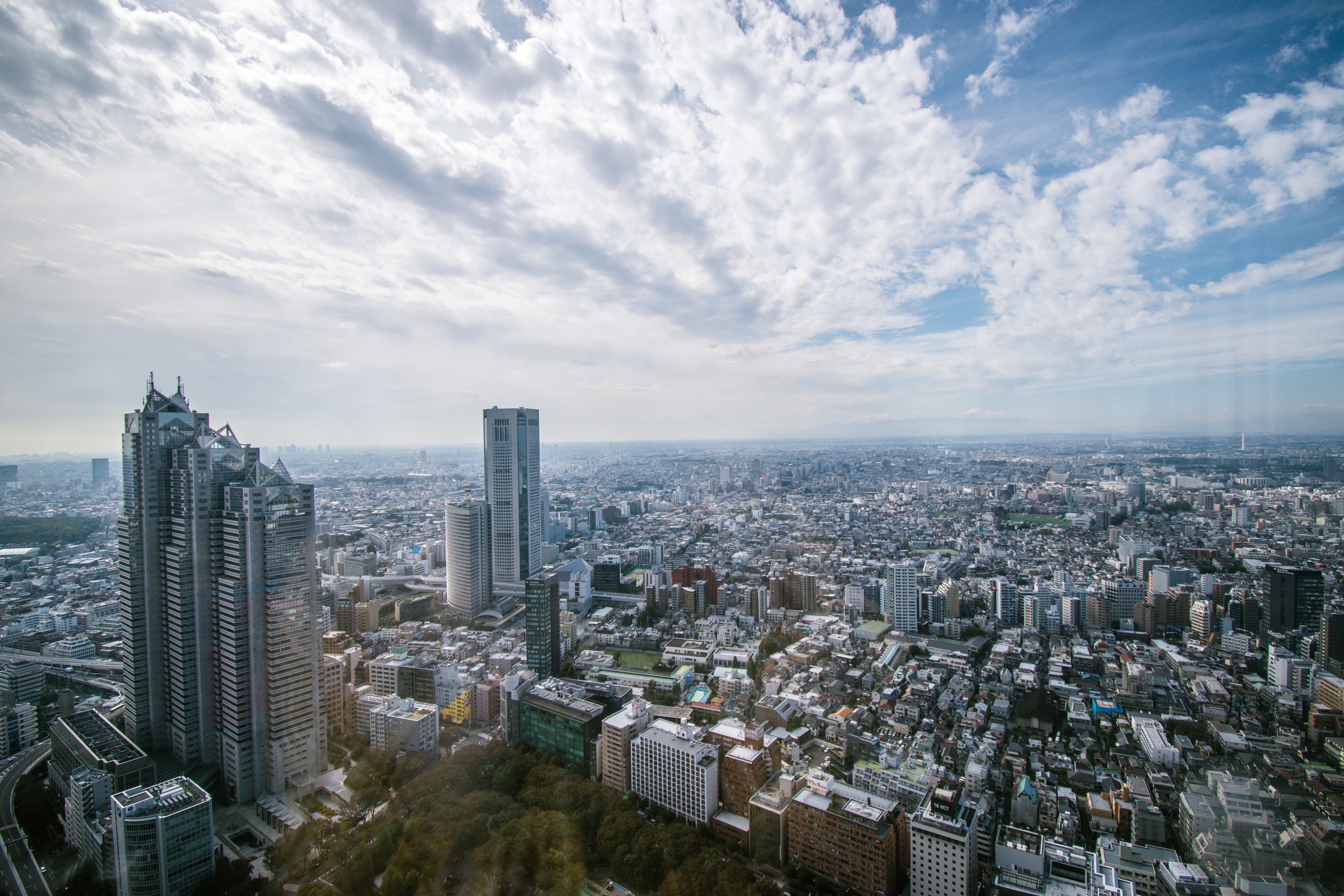 Tokyo Metropolitan Government Building, best photo spots in Tokyo