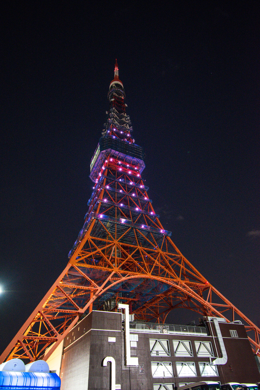 Tokyo Tower, best photo spots in Tokyo, Japan