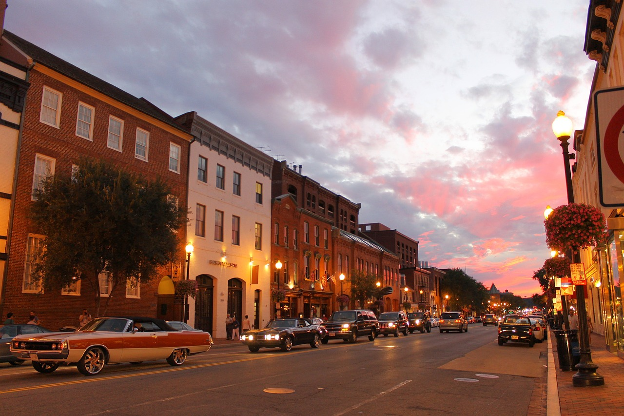 Georgetown DC, downtown, free things to do in DC